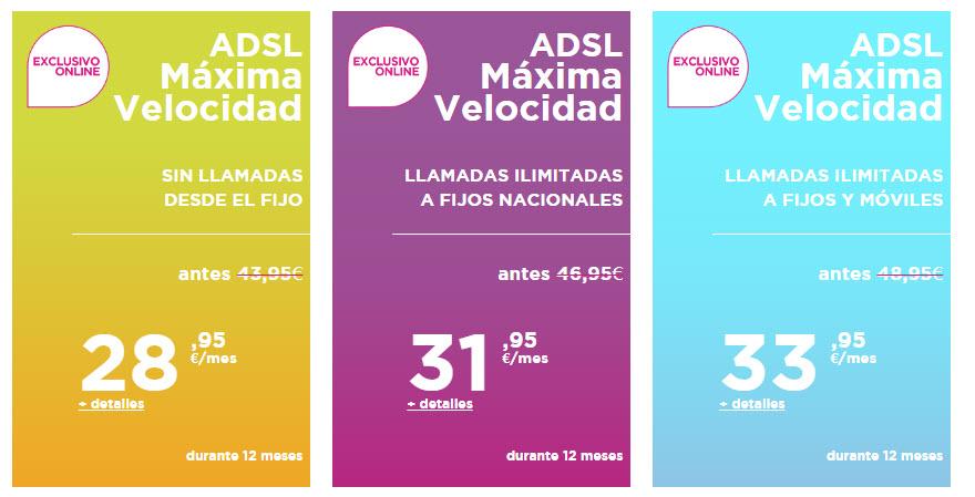 Jazztel ADSL y fijo