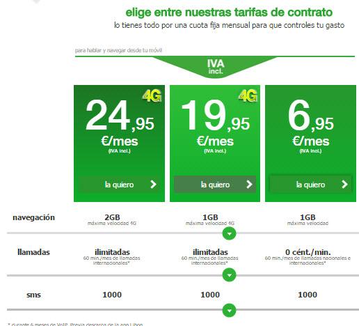 amena tarifas contrato 2015