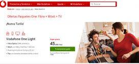 Vodafone : tarifas prepago y contrato con internet