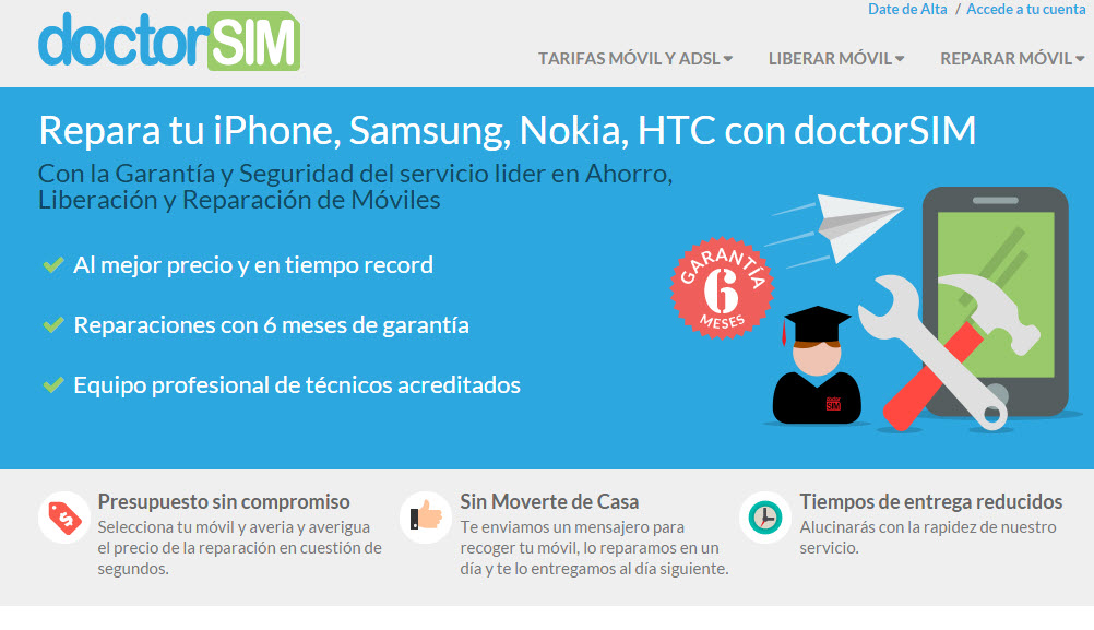 doctorsim reparacion moviles