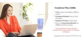 Tarifa Vodafone One: opiniones de Fibra, TV y móvil