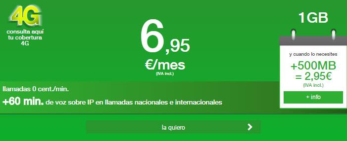 giga mas barato 4G 2015