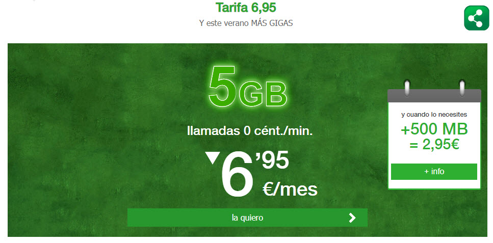 giga mas barato 4G