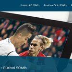 tarifas movistar fusion futbol