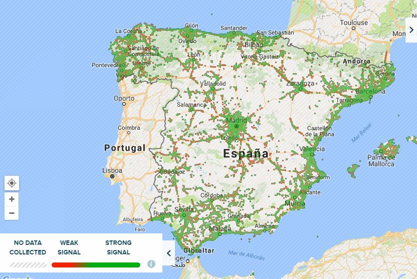 mapa cobertura orange 4g 2016