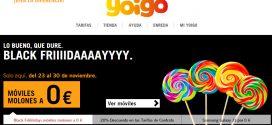 Black Friday Yoigo 2016: ofertas y descuentos en móviles