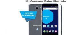 Nuevo móvil de Freedompop con whatsapp gratis a examen
