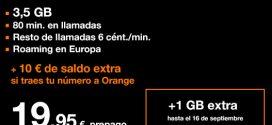 Tarifa Orange Go Fly prepago: opiniones y características a examen