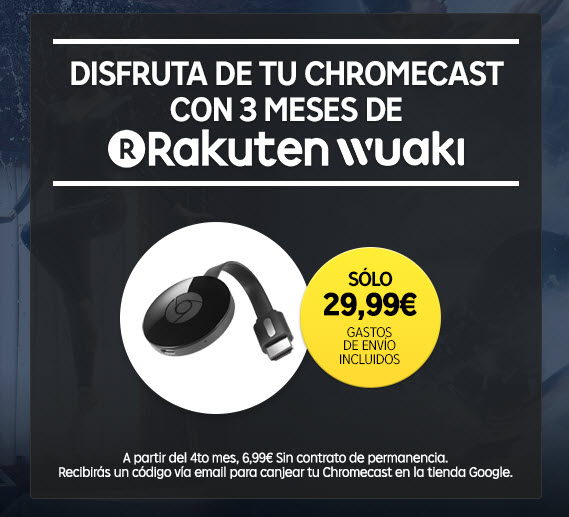 wuaki tv chromecast