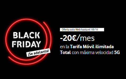 vodafone black friday movil