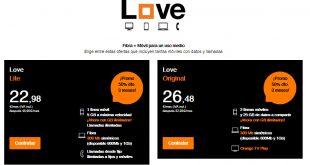 tarifas orange love