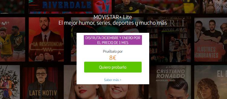 Movistar Plus Lite opiniones